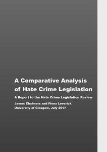 the ethics of hate crime legislation